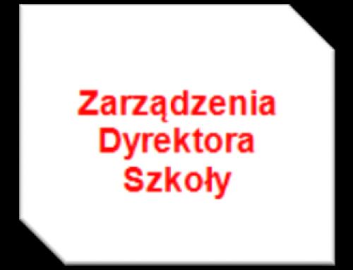 Komunikat Dyrektora